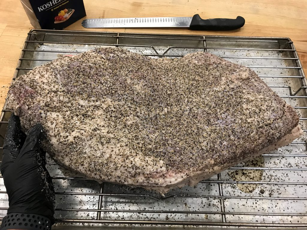 Brisket Salt and Pepper