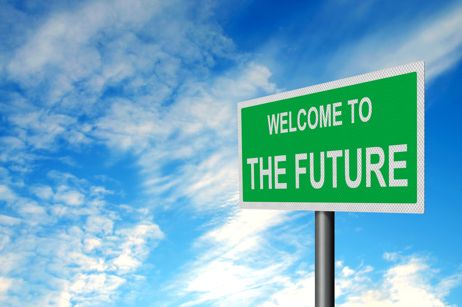 welcome to the future canstockphoto3113121