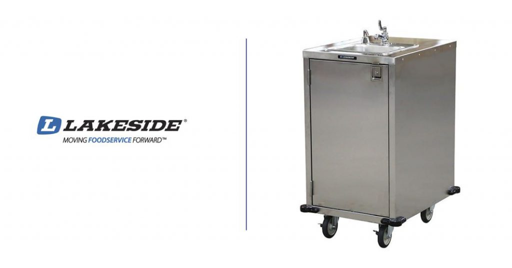 lakeside hand washing cart